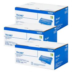 Brother | Toner |TN3467|12000 Pages| Bundle Set Of 3