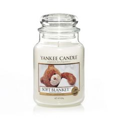 Yankee Candle |  Jar Scented Candle |  Soft Blanket