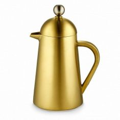 Kitchen Craft | La Cafetière Edited Brushed Gold Thermique 8 Cup Cafetiere