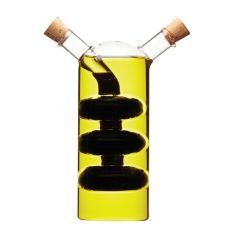 Kitchen Craft | Cruet Italian 2 in 1 Oil & Vinegar