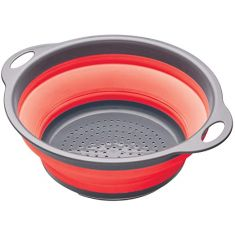 Kitchen Craft | Collapsible Colander| 28 x 24 x 9 cm| Red