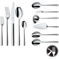 WMF| Cutlery Set | 66 Pieces | Flame Cromargan Protect