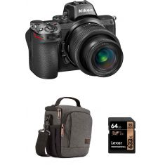 Nikon | Z5| Full Frame Mirrorless with 24-50 mm Lens + Free Case Logic Bag + Lexar Card