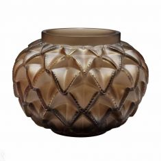 Lalique | Languedoc Small Vase Bronze Crystal