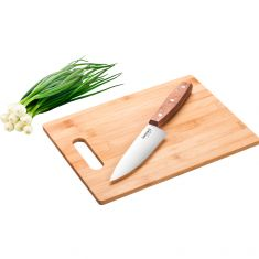 Lamart | Bamboo Cutting Board With Chef's Knife