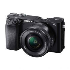 Sony | α6100 | APS-C Camera with Fast AF |  (Body + 16-50mm Power Zoom Lens)