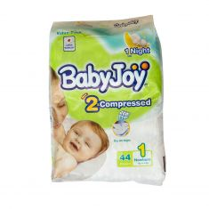 BabyJoy | New Born up to 4KG | 44pcs | No 1