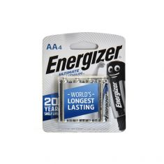 Energizer | Ultimate Lithium  AA 4's