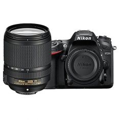 Nikon D7200 DSLR Camera VR Kit (AF-S 18-140mm)