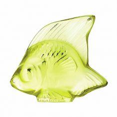 Lalique | Seal Fish Anise Crystal Light Green
