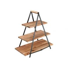 Ladelle | Wood Serving Tower