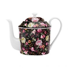 Ashdene |Ebony Rose Tea Pot