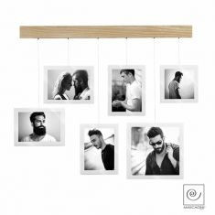 Mascagni | Collage Rail | Oak Photo Frame | A697
