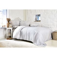 Karaca Home | Elonora | Double Lace Duvet Cover | Bamboo Pique Set | Blue