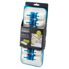 Joseph joseph|Quick Snap Plus Easy Release Plastic Ice Cube Tray with Stackable Lid|Blue