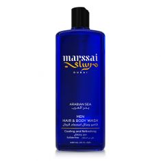 Marssai Men Hair & Body Wash-Arabian Sea