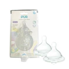 PUR | Comfort Feeder Wide Neck Nipple (Size L)