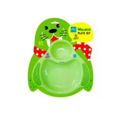 PUR | Walrus Meal time set – Plate & Cutlery