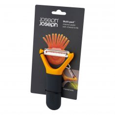 Joseph joseph| Julienne Stainless Steel Multi Peeler | Orange