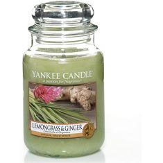 Yankee Candle  | Jar Scented Candle |  Lemon Grass and Ginger
