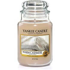 Yankee Candle | Jar Scented Candle|  Warm Cashmere
