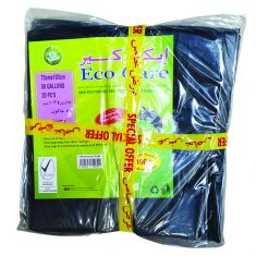 Eco Care | Garbage Bag Sheet  75x103cm | Black