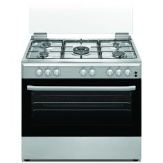 FRATELLI |Gas Cooker| 90x60 | Silver Stainless Steel