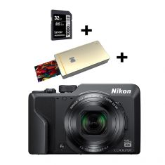 Nikon Coolpix A1000   (Bundle)|Kodak Printer PM210 Gold + Crt|32GB SD 1000xProf Class10