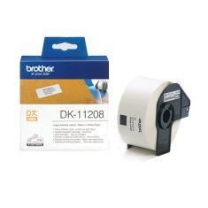 Brother | Lable Roll | DK-11208 - Black on White | 38mm x 90mm