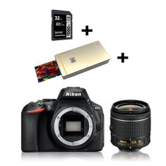 D5600 DSLR 18-55 VR Kit (Bundle) |Kodak Printer PM210 GOLD + CRT|32GB SD 1000XProf Class10