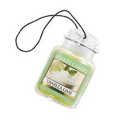 Yankee Candle | Gel Car Jar Ultimate Hanging Odor Neutralizing Air Freshener MidSummer's Night