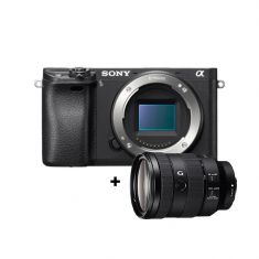 Sony | α6300 | E-mount Camera with APS-C Sensor | Body + FE 24–105 mm F4 G OSS Lens