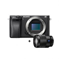 Sony | α6300 | E-mount Camera with APS-C Sensor | Body + Vario-Tessar T* FE 24-70mm F4 ZA OSS