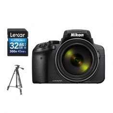 Nikon | Coolpix P900 | Tripod + SD 32GB Bundle