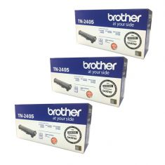 Brother | TN-2405 | Toner | 1,200 Pages | Bundle Set Of 3